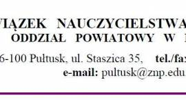 Zaproszenie ZNP na spotkanie dla nauczycieli z przedstawicielem ZUS