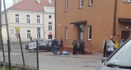 Mężczyzna zmarł na ulicy