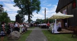 Wprowadzenie relikwii św. Maksymiliana Kolbe do parafii w Sokołowie Włościańskim