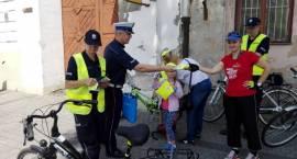 Policyjny rajd rowerowy
