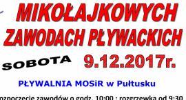 Zaproszenie na Mikołajkowe Zawody Pływackie