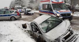 3 osoby poszkodowane w wypadku w Zbroszkach